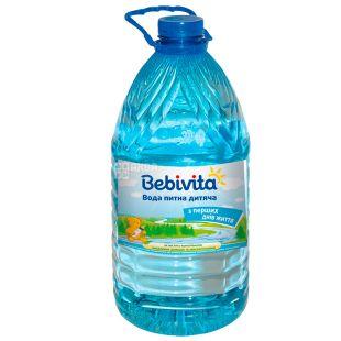 Bebivita, 5 л, Негазированная вода, ПЭТ