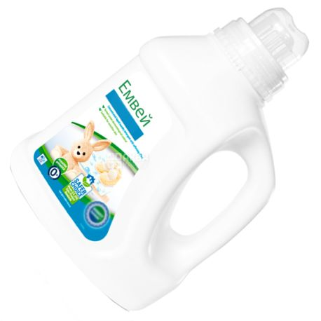 Емвей, 1 л, Засіб для прання дитячої білизни, З пом'якшувальним ефектом