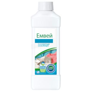 Емвей, 1 л, Засіб для прання, Для делікатних тканин