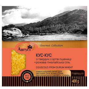 August, 400 g, Krupa, Kus-kus