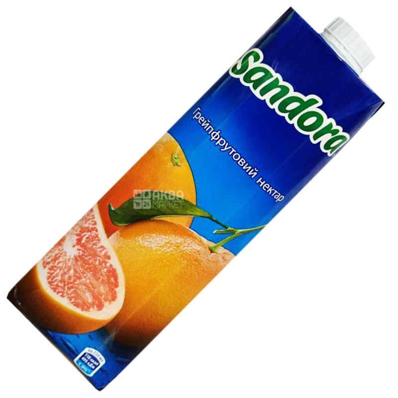 Sandora, Грейпрфрутовий, 0,95 л, Сандора, Нектар натуральний