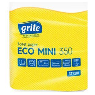Grite, 4 рулона, Туалетний папір, Eko mini, Двошаровий