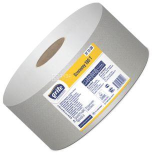 Grite, 1 рулон, Туалетний папір, Gambo econom 180, Одношаровий