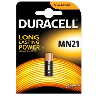Duracell, MN21, 2 шт., Батарейки, 12V