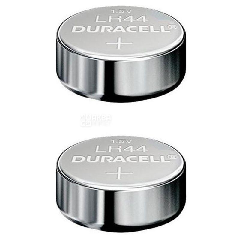 Duracell, LR44, 2 шт., Батарейки, Монетного типу