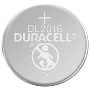 Duracell, 1 шт., Батарейки, Таблетного типу, 2016