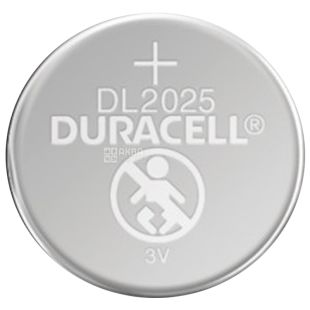 Duracell, 1 pc., Batteries, Tablet Type, 2025