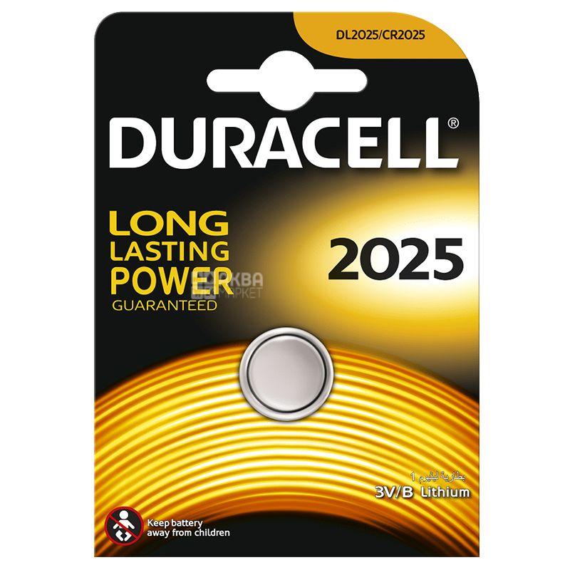 Duracell, 1 шт., Батарейки, Таблеткового типу, 2025