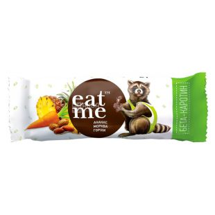 EatMe, 30 г, Батончик, Ананас, морковь, орехи в йогурте