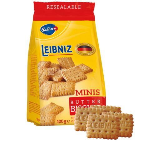 Leibniz, 100 г, Печенье, Сливочное, Minis batter