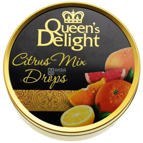 Queen's Delight, 150 г, Леденцы, Цитрусовый микс