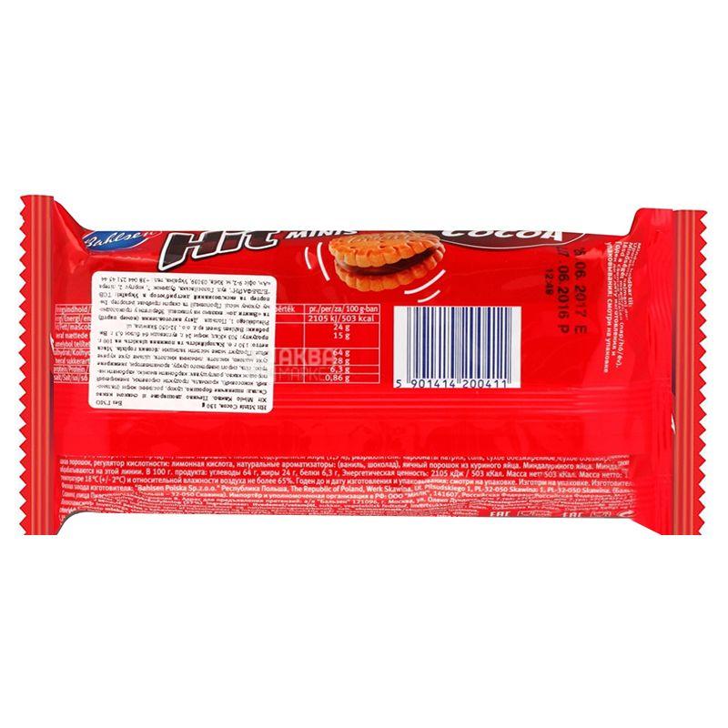 Hit, 130 г, Печенье, Какао крем, Minis
