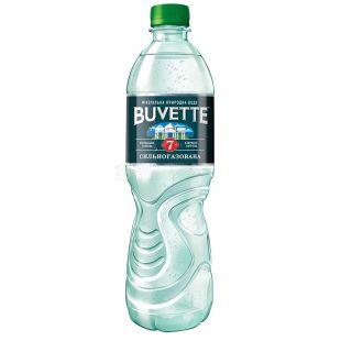 Buvette №7, 0,5 л, Вода сильногазована, ПЕТ