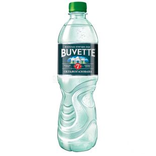 Buvette №7, 0,5 л, Бювет, Вода минеральная сильногазированная, ПЭТ
