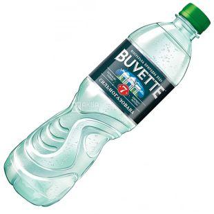 Buvette №7, 0,5 л , Вода сильногазированная, ПЭТ