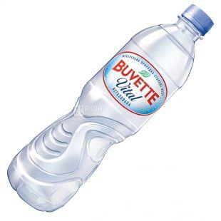 Buvette vital, 0,5 л , Вода негазированная, ПЭТ