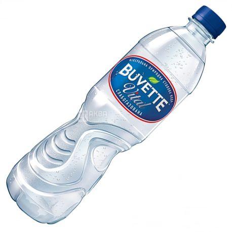 Buvette Vital, 0,5 л, Бювет Вітал, Вода мінеральна слабогазована, ПЕТ