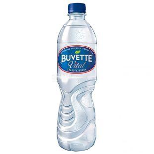 Buvette vital, 0,5 л, Вода слабогазована, ПЕТ