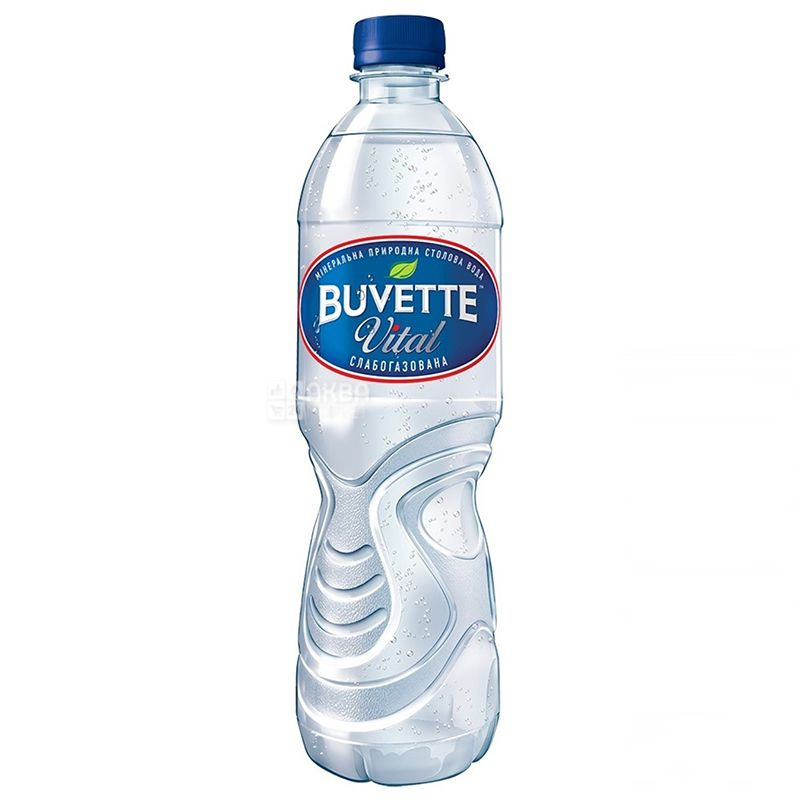 Buvette vital, 0.5 l, Lightly carbonated water, PET, PAT