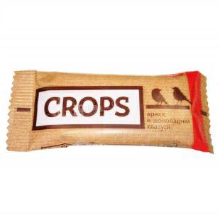 EatMe, 30 г, Батончик, Грил'яж з арахісом в шоколадній глазурі, м/у