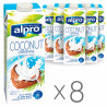 Alpro Coconut, Packing 8 pcs. on 1 l, Drink Coconut, Original