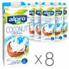 Alpro Coconut, Упаковка 8 шт. по 1 л, Напиток  Кокосовый, Оригинальный