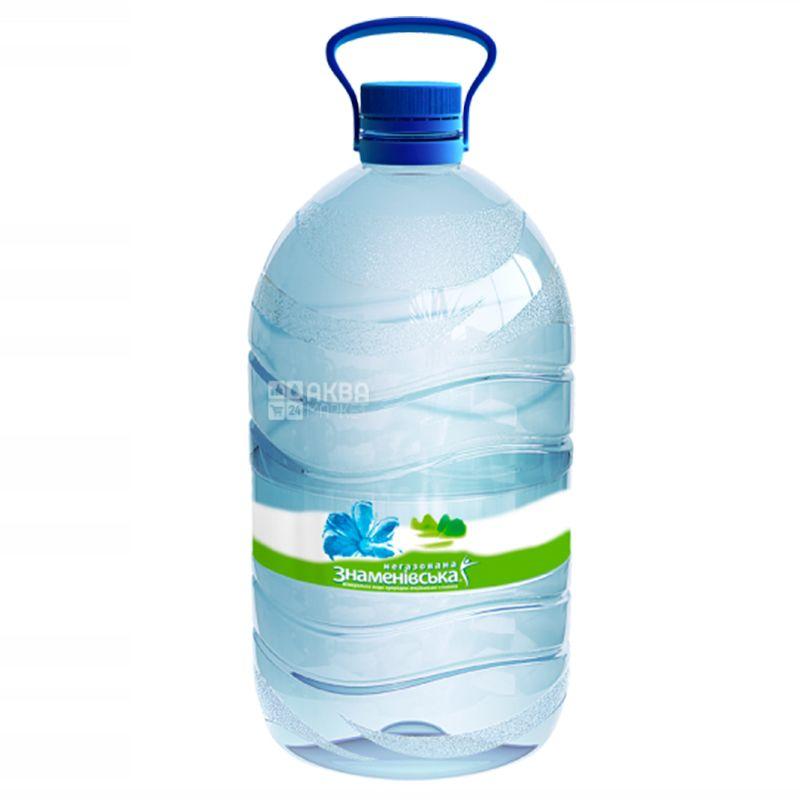 Знаменовская, 5 л, Вода негазированная, ПЭТ
