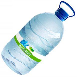 Знаменовская, 5 л, Вода минеарльная негазированная, ПЭТ