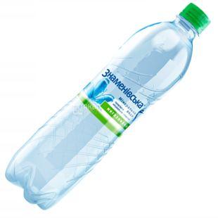 Знаменовская, 0,5 л, Вода минеральная негазированная, ПЭТ