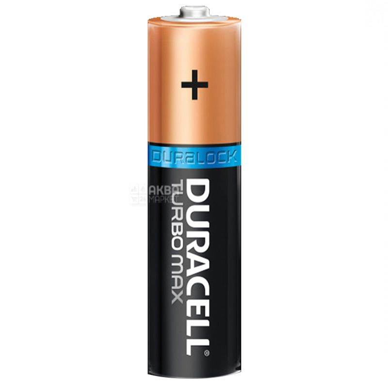 Duracell, 2 шт., ААА, Батарейки, Turbo Max