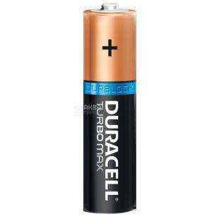 Duracell, 4 шт., ААА, Батарейки, Turbo Max