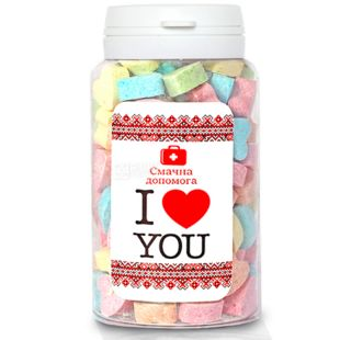 Tasty help, 150 ml, Chewy sweets, I love you