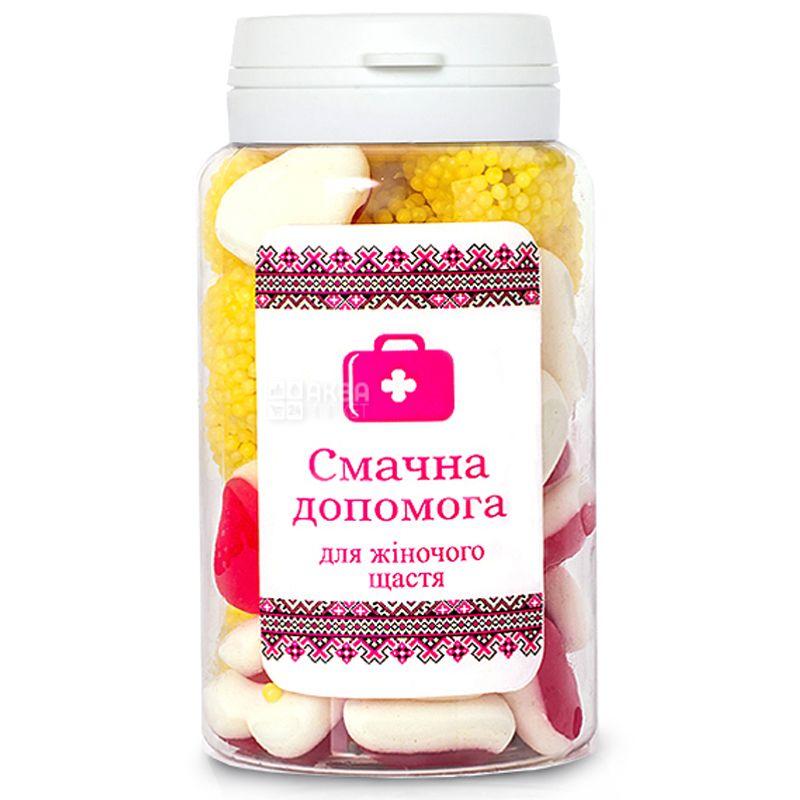 Смачна допомога, 150 мл, Цукерки жувальні, Для жіночого щастя