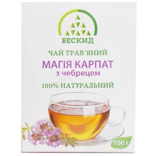 Бескид, Магія Карпат, 100 г, Чай трав'яний, з чебрецем