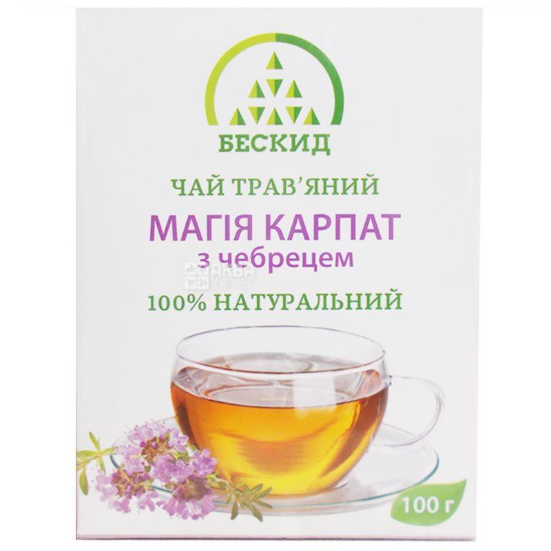 Бескид,100 г, Чай травяной, Магия Карпат, С тимьяном