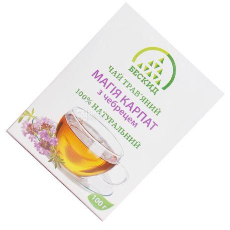 Бескид, Магия Карпат, 100 г, Чай травяной, с чабрецом