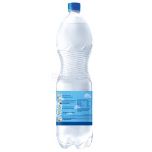 Аква Няня, 1,5 л, Вода детская негазированная, с первых дней жизни, ПЭТ
