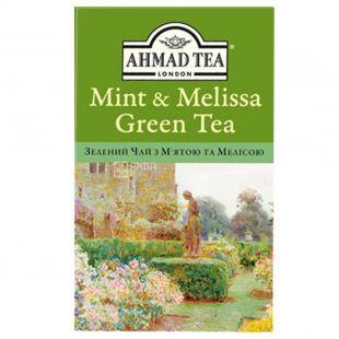 Ahmad, 75 г, Чай зеленый, Мята и мелиса