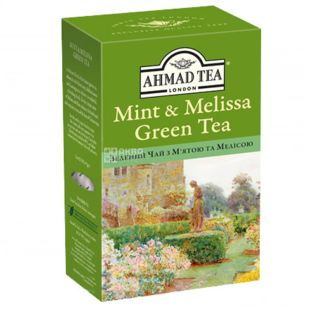 Ahmad, 75 g, green tea, mint and melissa