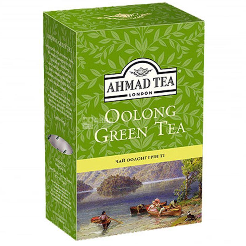 Ahmad Tea Oolong Green, 75 г, Чай зеленый Ахмад Ти Оолонг Грин
