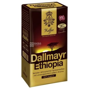 Dallmayr, 500 г, Кофе молотый, Ethiopia, в/у