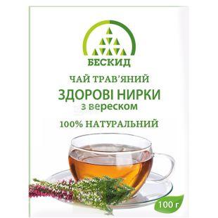 Beskid, 100 g, Herbal tea, Healthy buds, With heather