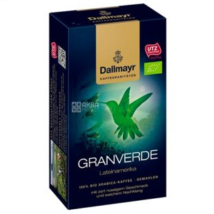 Dallmayr, 250 г, Кофе молотый, Granverde, в/у