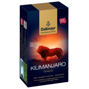 Dallmayr, 250 г, Кофе молотый, Kilimanjaro, в/у
