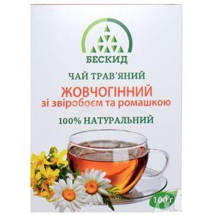 Бескид, Желчегонный, 100 г, Чай травяной, со зверобоем и ромашкой