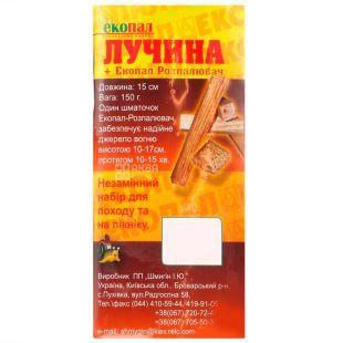 Dug, 150 g, Lučina + Lightener for a fire, In briquettes