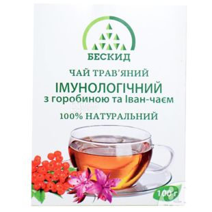 Beskid, 100 g, Herbal tea, Immunological, With rowan and willow tea
