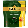 Jacobs Monarch,  Кофе растворимый, 300+100 г