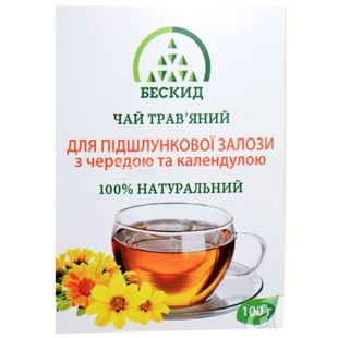 Beskid, 100 g, Herbal tea, For the pancreas, With a string and calendula