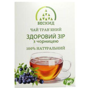 Beskid, 100 g, Herbal Tea, Healthy Vision, With Blueberries